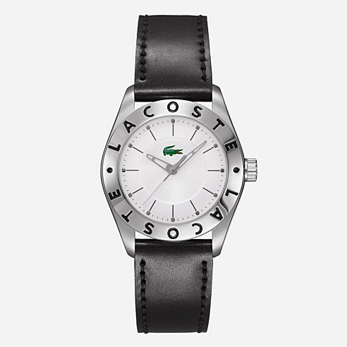 Biarritz leather strap watch