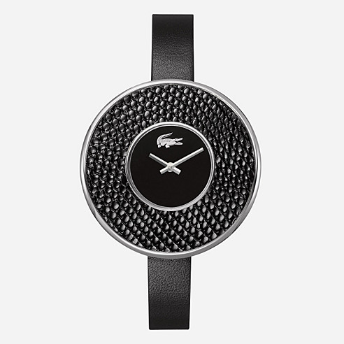 Figari leather strap watch