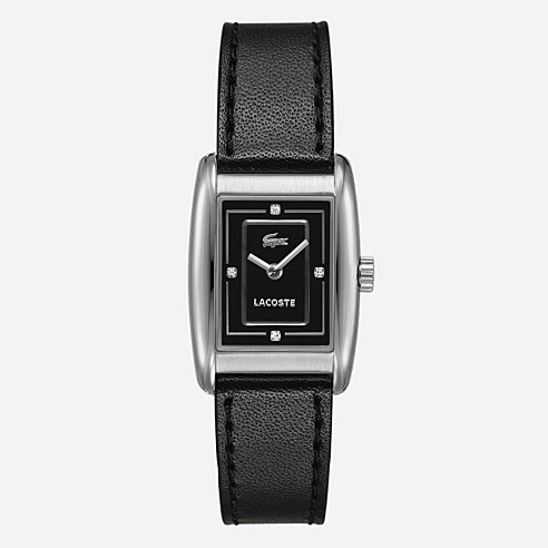 Roma leather strap watch