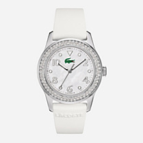 Lacoste Advantage stainless steel bracelet watch Women