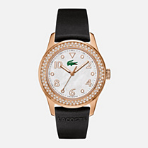 Lacoste Advantage silicone strap watch Women