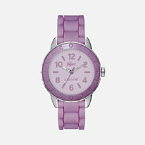 Lacoste Rio silicone strap watch Women