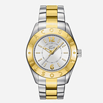 Lacoste Biarritz steel bracelet watch Women