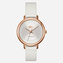 Lacoste Nice leather bracelet watch Women