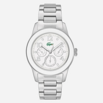 Lacoste Advantage multifunction steel bracelet watch Women