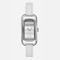 Lacoste Sienna leather strap watch Women