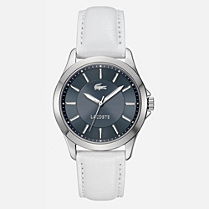 Lacoste Sofia leather strap watch Women
