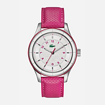 Lacoste Sydney leather strap watch Men