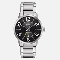 Lacoste Barcelona stainless steel bracelet watch Men