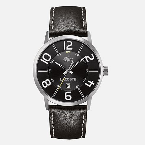 Barcelona leather strap watch