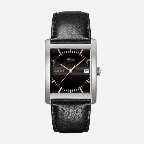 Berlin leather strap watch
