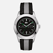 Lacoste Advantage textile strap watch Men