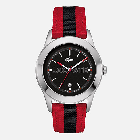 Advantage textile strap watch