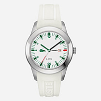 Lacoste Advantage silicone strap watch Men
