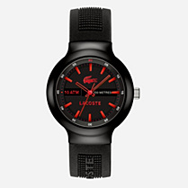 Lacoste Borneo silicone strap watch Men