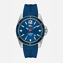 Lacoste Seattle silicone strap watch Men