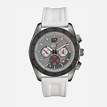 Lacoste Panama chrono leather strap watch Men