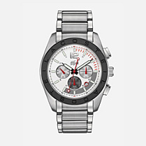 Lacoste Panama chrono stainless steel bracelet watch Men