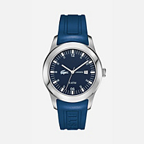 Lacoste Iconic Advantage silicone strap watch Men