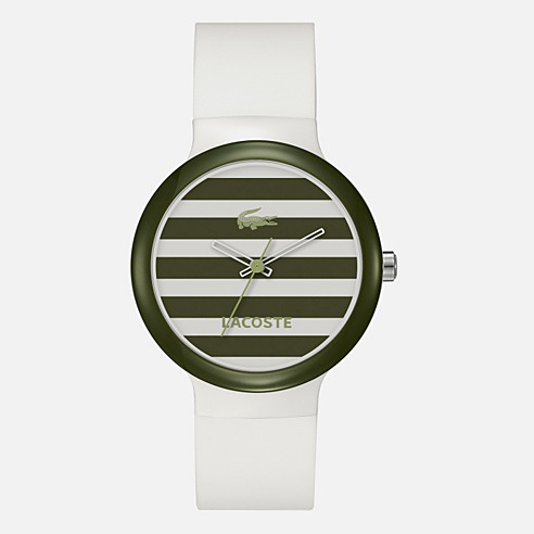 Goa silicone strap watch