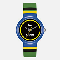 Lacoste Goa silicone strap watch Men