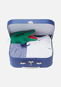 Lacoste Pyjamas and cuddly toy gift set Boy