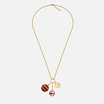 Lacoste Sportswear long necklace Women