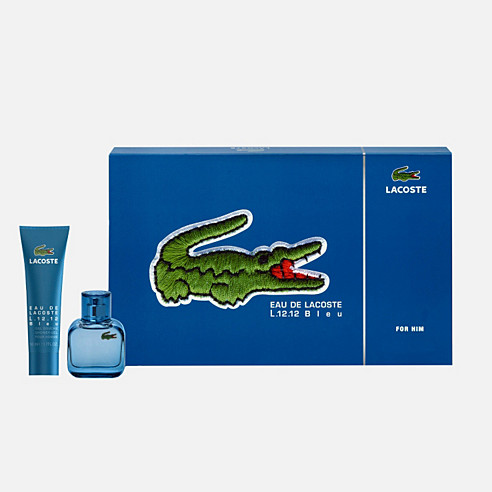 Eau de Lacoste L.12.12 Blue 30ml + Shower Gel 50ml Gift Set