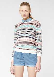 Lacoste Live jacquard sweater Women