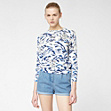 Lacoste Live printed sweater