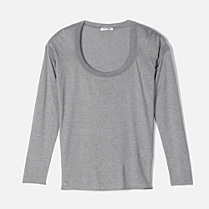 Lacoste Full sweater in cotton and silk. Women