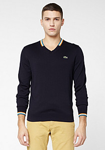 Lacoste Live V-neck sweater Men