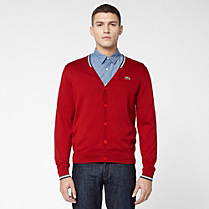 Lacoste Live V-neck cardigan Men