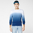 Graduated effect Lacoste Live sweater