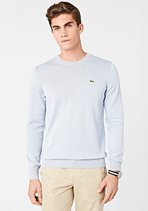 Lacoste Plain crew neck sweater Men