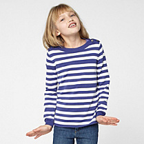 Lacoste Striped boat neck sweater gender.gir