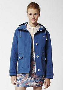 Lacoste Live water repellent hooded jacket Women