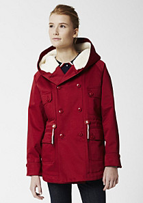 Lacoste Live hooded parka jacket Women