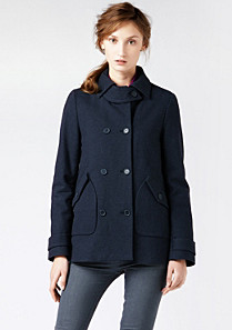 Lacoste Buttoned jacket with pockets Women