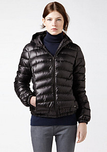 Lacoste Hooded down jacket Women