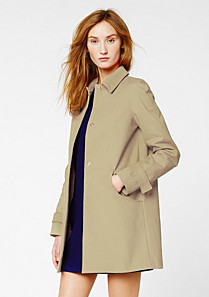Lacoste Slim fit Trenchcoat Frau