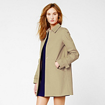 Lacoste Fitted trench coat Women