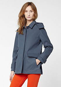 Lacoste Full hooded parka. Women