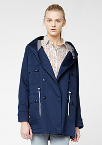 Lacoste Live hooded parka Women