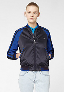 Lacoste Live satin jacket Women