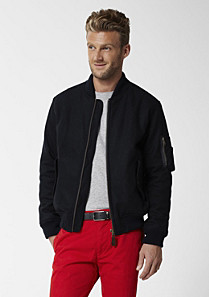 Lacoste Short zip-up jacket Men