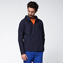 Lacoste Hooded jacket with badge Men