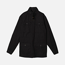 Lacoste High neck parka Men