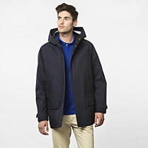 Lacoste Showerproof hooded parka Men