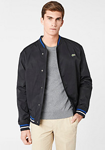Lacoste Bowling jacket with piping Men